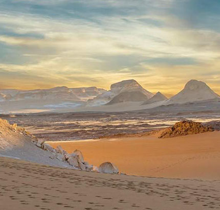 bahariya oasis white desert