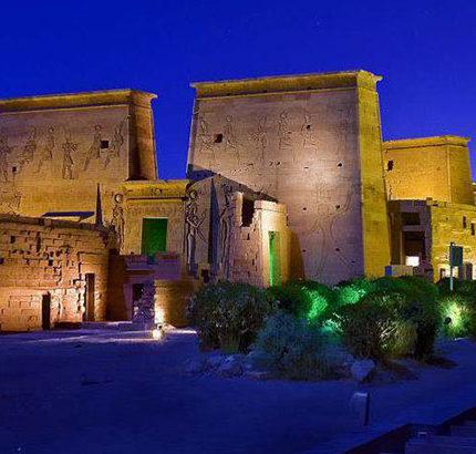 light show Aswan tour